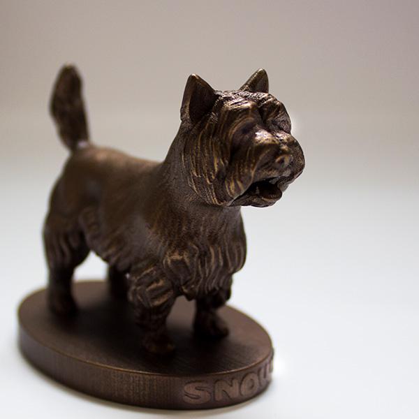 Arty Llobster bronze sculpture